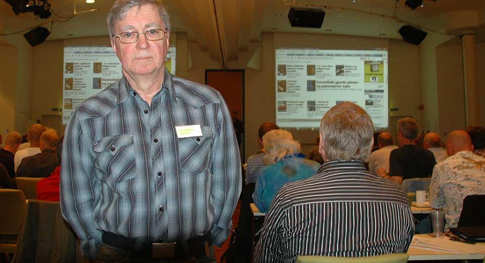 SKADD: Harry Stiegler Brevik jobbet ved turbinene på Statfjord A i Nordsjøen. I 1987 ble han alvorlig syk.