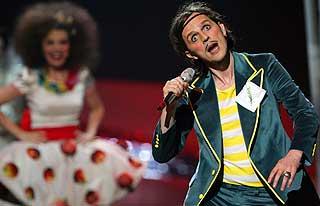 KVELDENS KLOVN? Bosniske Elvir Lakovic bidrar sterkt til å gjøre MGP til et sirkus.