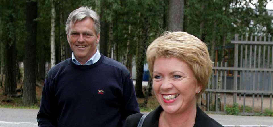 FELLESEIE: Åslaug Haga og ektemannen Bård Hopland, som er ansatt i UD, har felleseie på hytta i Nordfjord, ifølge VG. Der ble en liten brygge satt opp uten byggesøknad for ti år siden. Bildet er fra 2005.