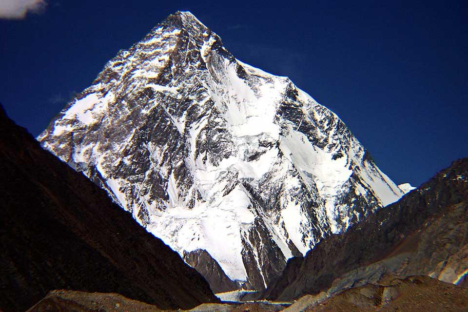 verdens nest høyeste fjell