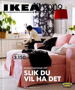 OPPFATTES IKKE SOM REKLAME: Harald Strømme er imponert over Ikeas tradisjon for markedsføring av katalogen.