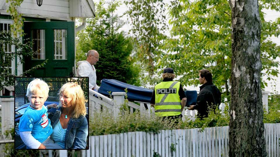 SKJERMER BARNA: Torild Moe tror ikke sønnen Fredrik (2) har forstått det som skjedde i huset like ved barnehagen.
