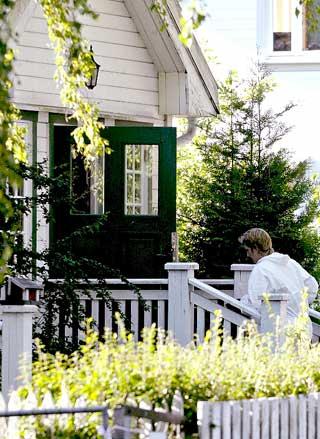 KOMMUNAL UTLEIEBOLIG: Oslo kommune leier ut huset til flere barnefamilier.