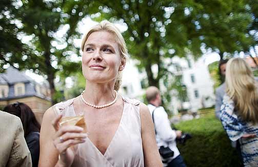 SMILTE I HAGEN: Vendela Kirsebom.