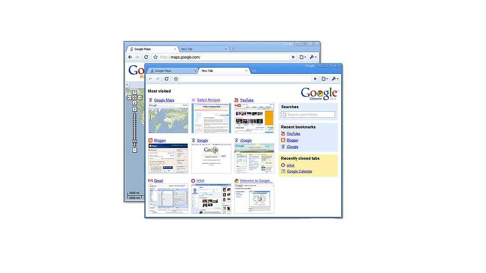 DETTE ER CHROME: Google g�r fra � v�re innholdsleverand�r, til selv � ville legge premissene for surfingen din. Deres nye nettleser blir lansert i l�pet av dagen.