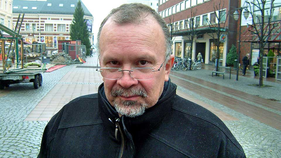 FORFATTER: Rune Belsviks «Tjuven» skaper diskusjon. Den burde vært utstyrt med varseltrekant, mener Dagbladets litteraturanmelder Cathrine Krøger.