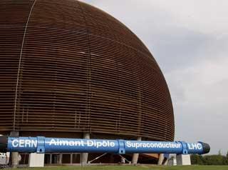 CERN: Laboratoriet i Cern ligger et stykke utenfor Gen�ve i Sveits.