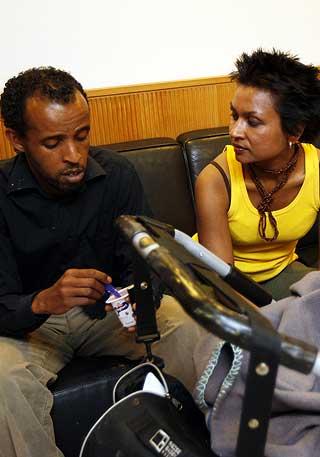 BLE DØMT: 23-åringen som slo ned Ali, ble i juni i år dømt til fengsel i ett år og fem måneder.