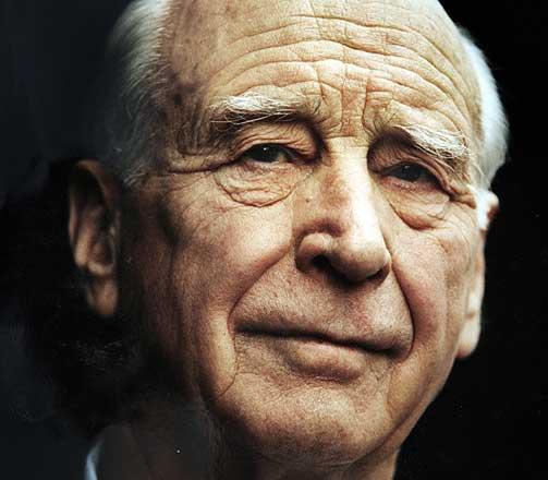 MEKTIG NORDMANN: Jens Chr. Hauge d�de 91 �r gammel i 2006.