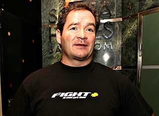 RAUS: - John var en raus og morsom mann, sier tidligere proffbokser Steffen Tangstad.
