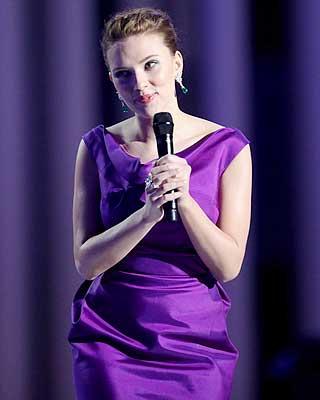 LILLA: Scarlett Johansson tok seg s�rdeles godt ut.