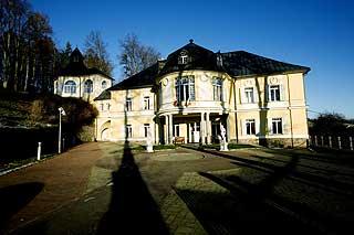 STASELIG: Slottet Knezice har huset herskapsfamilier gjennom mange år.